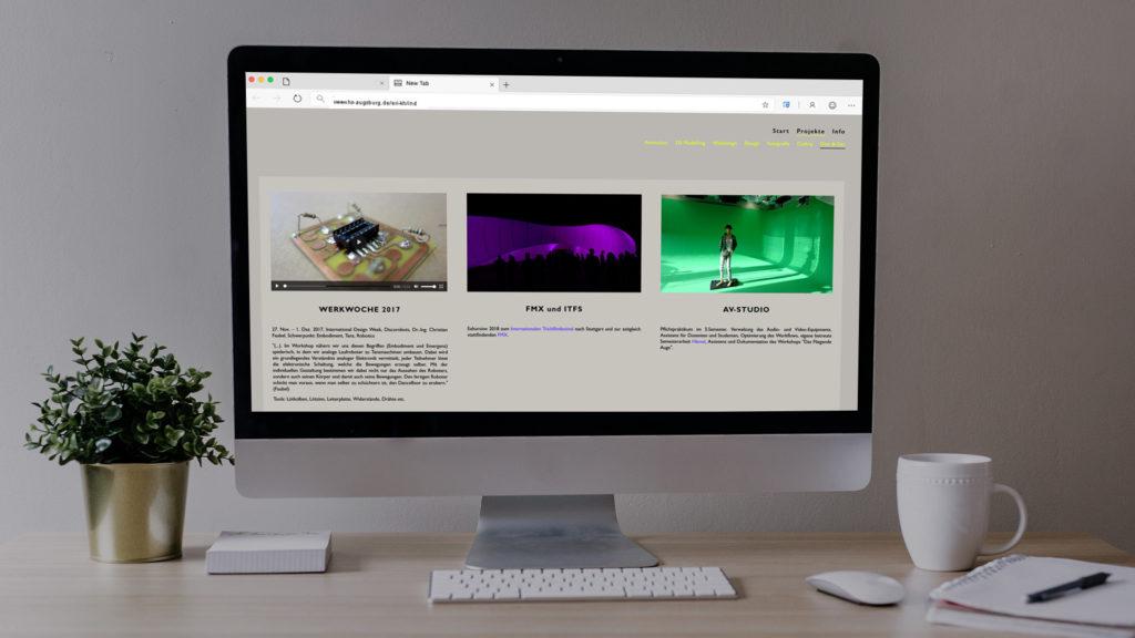 Webdesign Webentwicklung Desktop